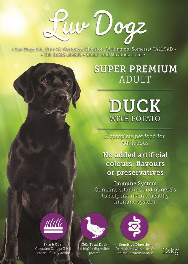 Super Premium No Grain Duck With Potato 2