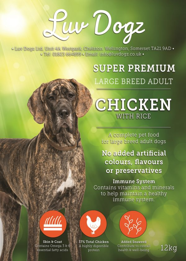 Super Premium Large Breed Chicken With Rice 2