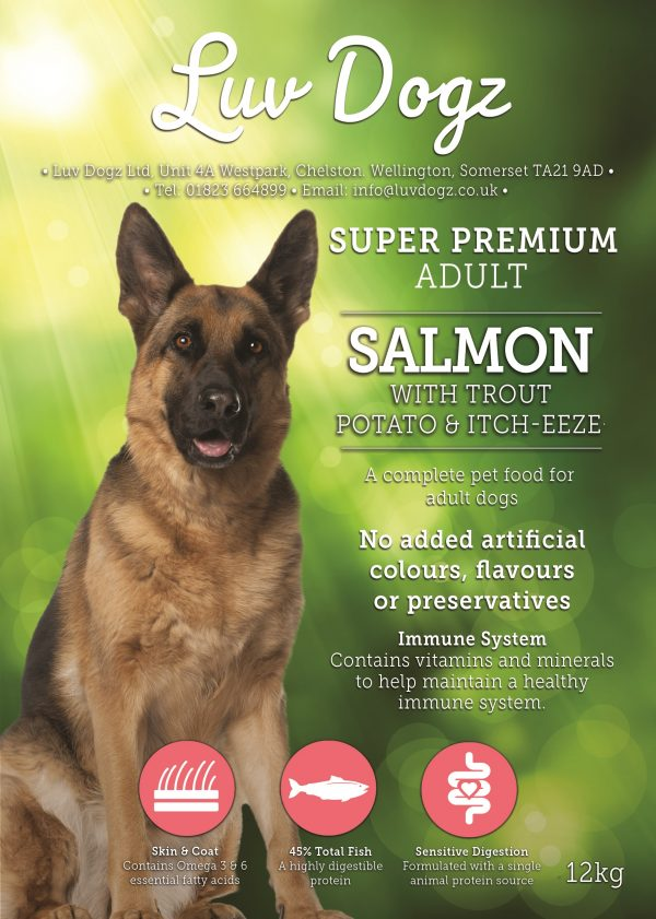 Super Premium Salmon With Trout & Itch-Eeze® 2