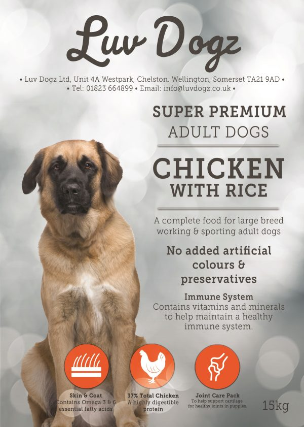 Bulk Buy Working Adult Large Breed Chicken & Rice 1