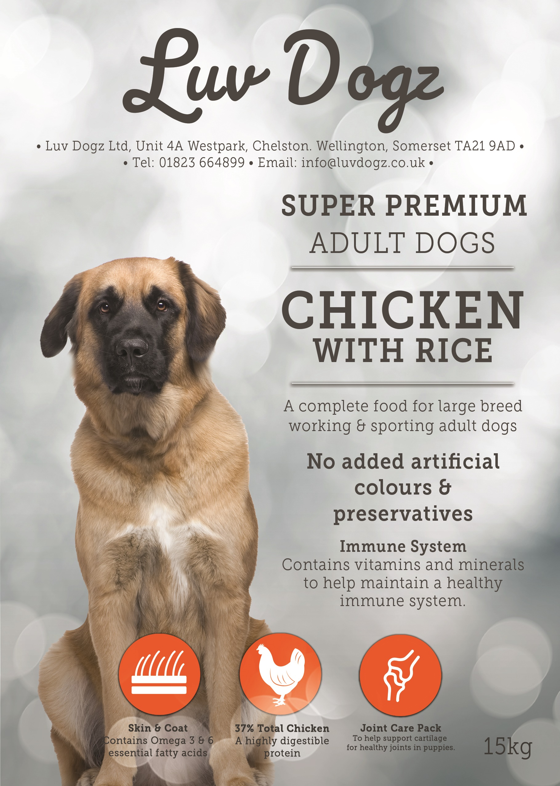 Bulk Buy Working Adult Large Breed Chicken & Rice 3