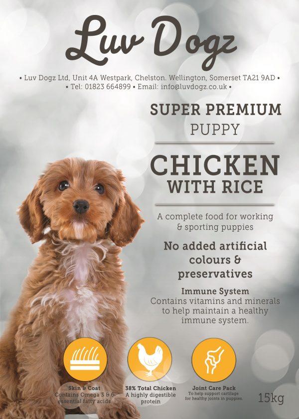 Puppy Chicken With Rice