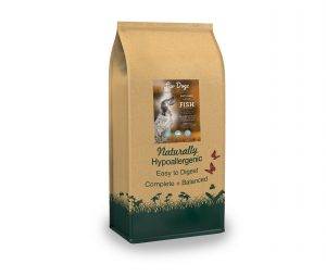 Natural Fish & Rice Dry Dog Food